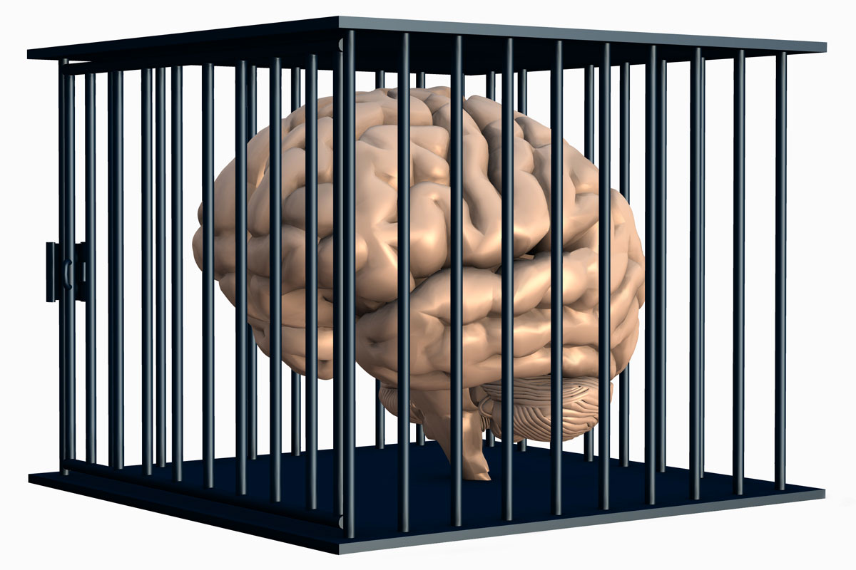 Risultati immagini per cervello in gabbia