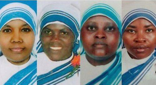Četiri redovnice misionarke ljubavi ubijene 4. ožujka 2016. u Adenu